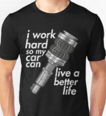 Airride better life for car Unisex T-Shirt