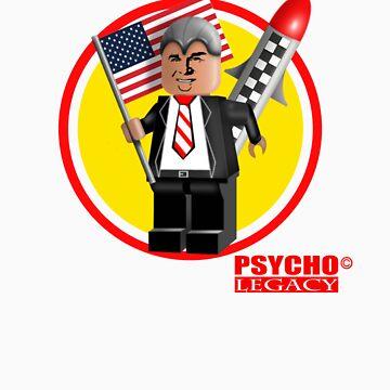 PSYCHO LEGACY T-SHIRT DESIGN 1 by yngart
