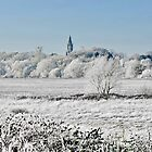 Eaton Hall Church in a Hoar Frost by AnnDixon