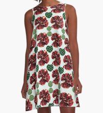 Pomegranates and hearts A-Line Dress