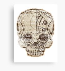 Skull Crusher Canvas Print