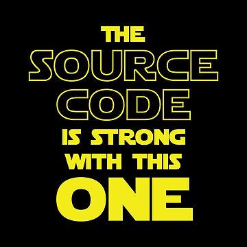 THE SOURCE CODE IS STRONG WITH THIS ONE by tinybiscuits
