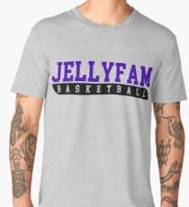 JellyFam Basketball Men's Premium T-Shirt