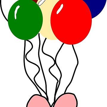 Happy Heart and Balloons by lauren-w