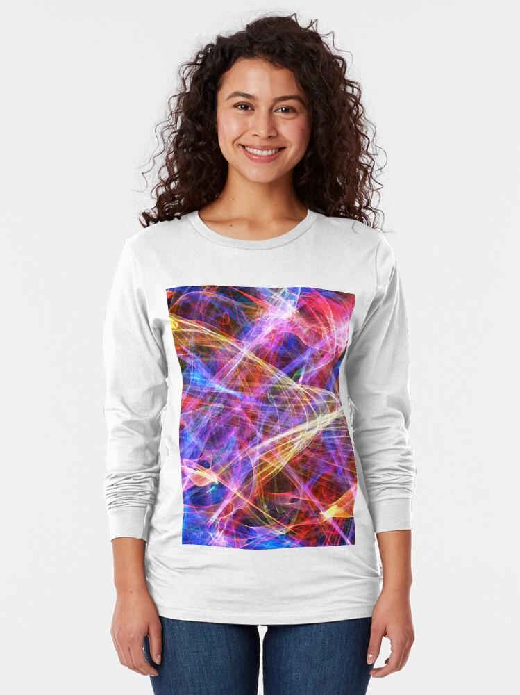 Alternate view of Nebulae  Long Sleeve T-Shirt