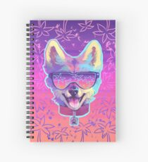 sparkle dog Spiral Notebook