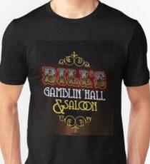 Bill's Gamblin' Hall and Saloon Vegas Unisex T-Shirt