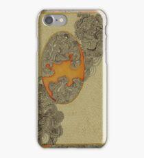 Orange - The Qalam Series iPhone Case/Skin