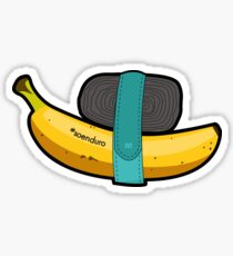 Enduro Banana Sticker