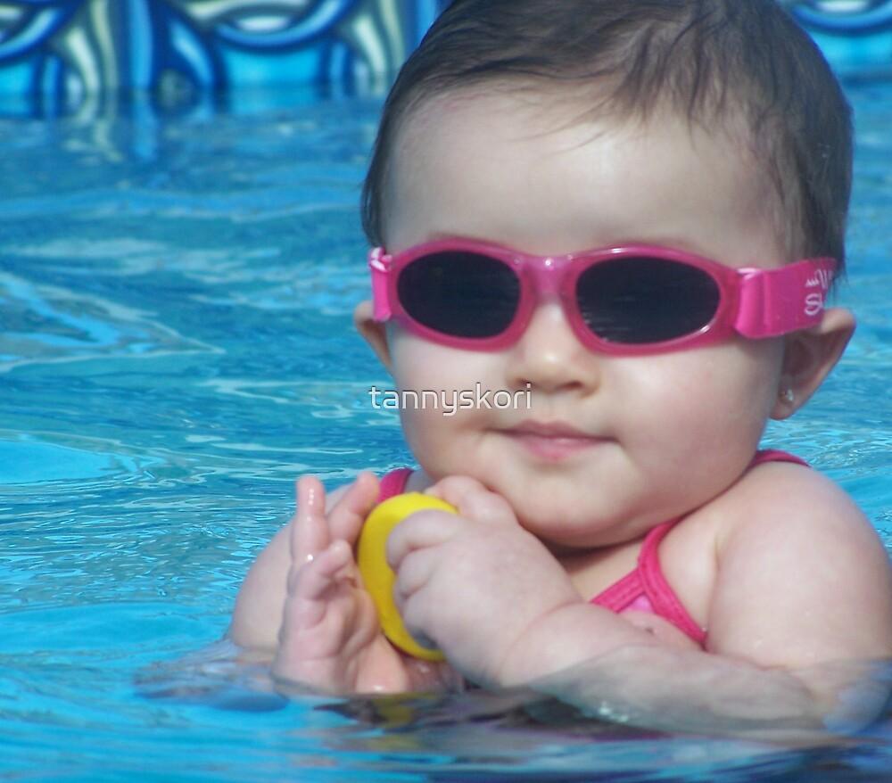 shades in the pool  by tannyskori