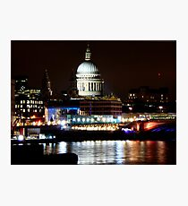 St. Pauls Cathedral  Photographic Print