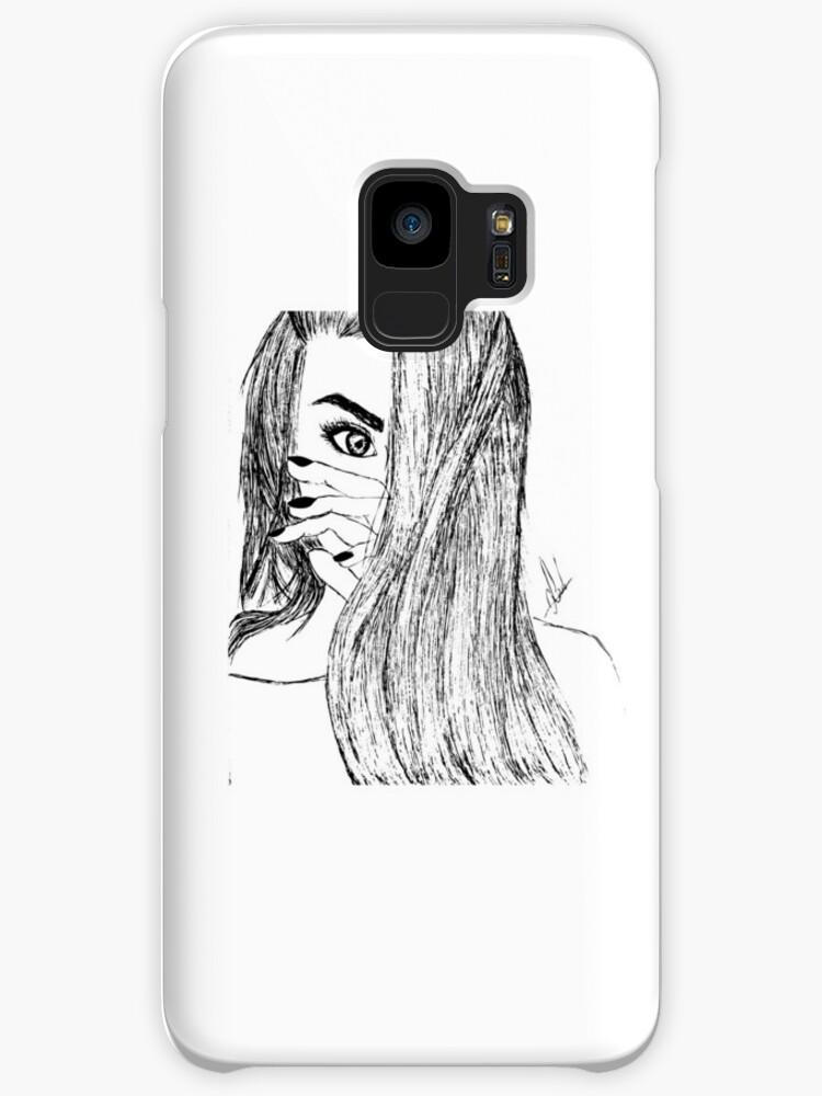 Zeichnung Mädchen Tumblr Hüllen Skins Für Samsung Galaxy Von