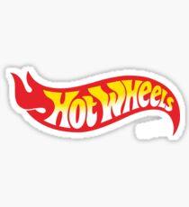Hot Wheels Merchandise Sticker
