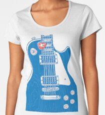 Guitar & Plectrum Women's Premium T-Shirt