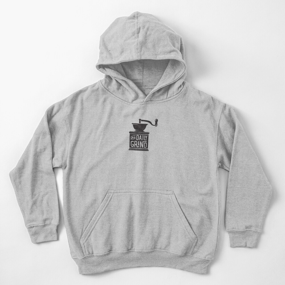 THE DAILY GRIND Kids Pullover Hoodie