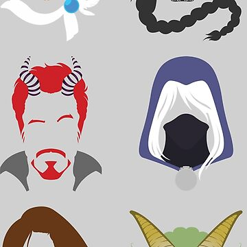 Crits and Giggles Hero Icons by Stelera