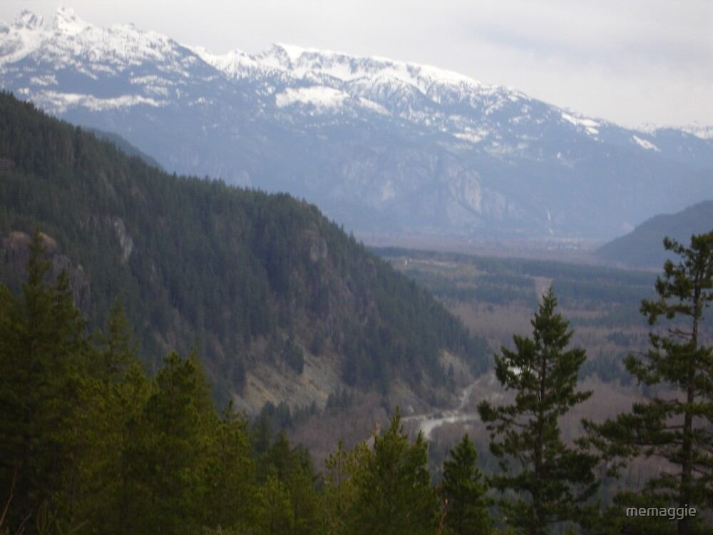 deep valleys of British Columbia by memaggie