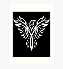 Mythical Phoenix T-Shirt Bird Rise From Ashes Graphic Tee T-Shirt Art Print