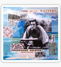 Themes of the Masters (Buster Keaton) Sticker