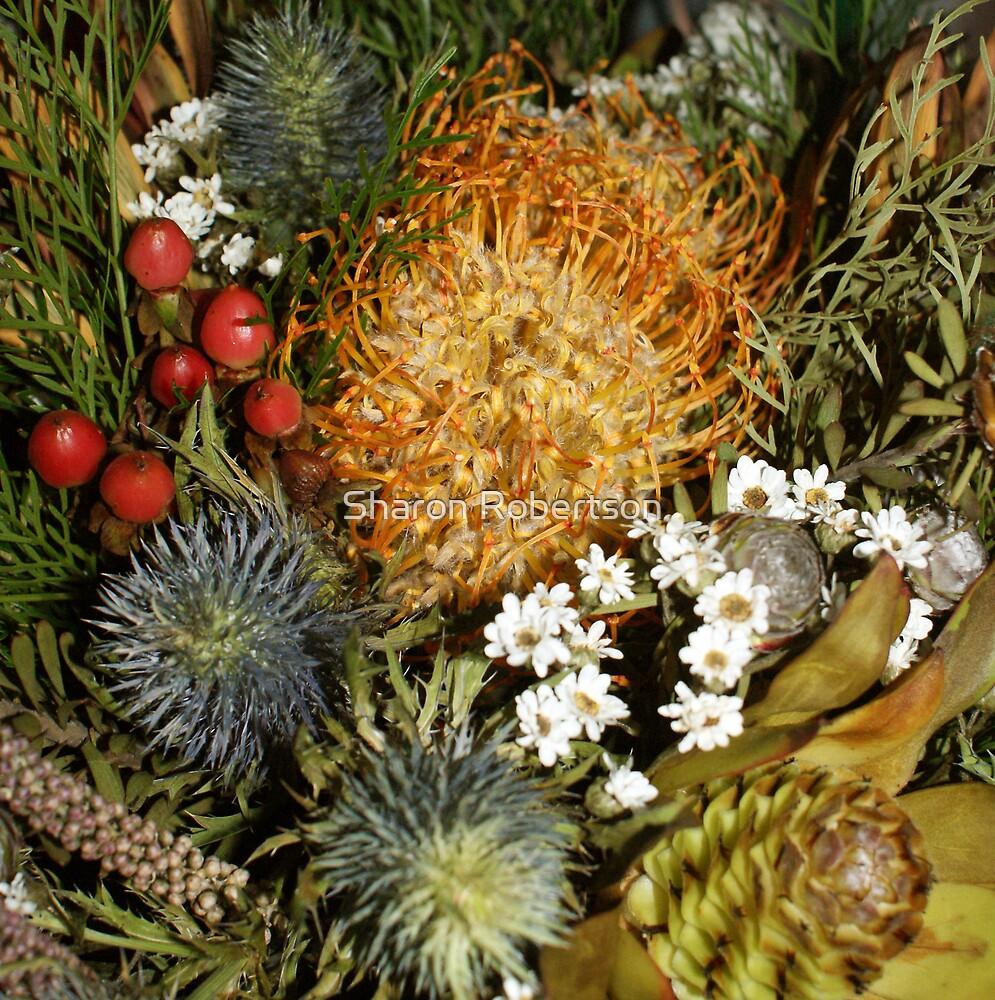 Christmas Flowers by Sharon Robertson