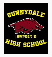 Sunnydale High School I Survived Class of 1999 Photographic Print