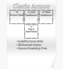 Cleric Spells 5e Posters | Redbubble