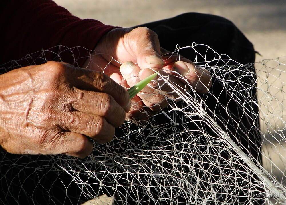 Sewing Nets by Dave Lloyd
