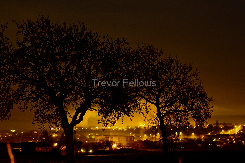 Hemsworth nights by Trevor Fellows