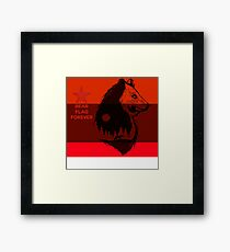 bear flag forever Framed Print