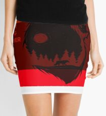 bear flag forever Mini Skirt