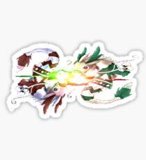 Zen Dragon Sticker