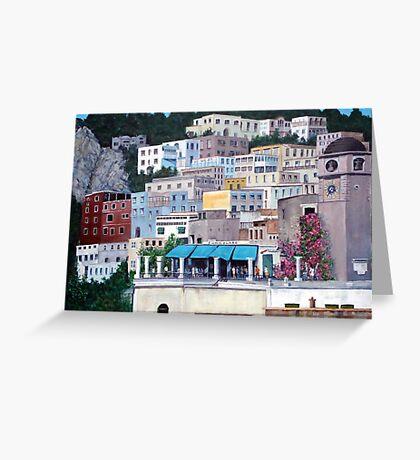 Capri - going home Greeting Card