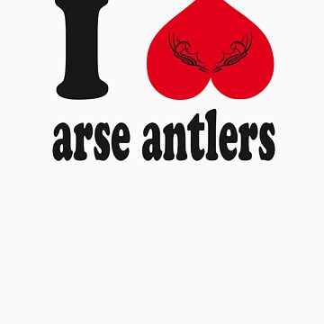 Arse Antlers by speechless