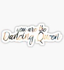 Pegatina Eres la Reina Danzante