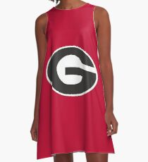 Georgia Bulldogs A-Line Dress