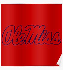 Ole Miss Rebels Poster