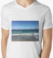 Strolling Waves Men's V-Neck T-Shirt