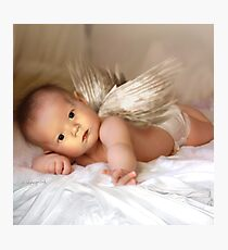 A Christmas Angel for David Parkin Photographic Print