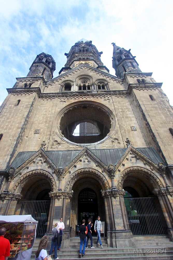 Berlin - Kaiser Wilhelm Memorial Church  by mmarco1954