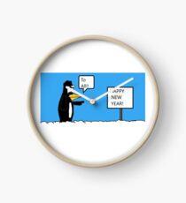 A Wishing Penguin Clock