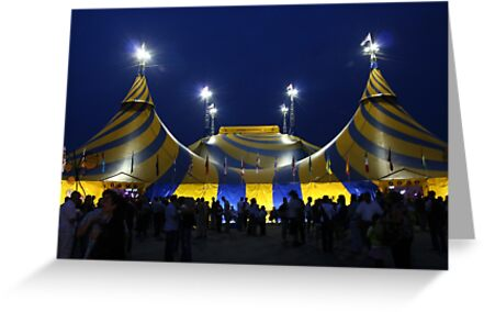 Cirque du Soleil - Le Grand Chapiteau - Montreal Quebec Canada by Allen Lucas