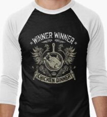 PUBG WWCD Men's Baseball ¾ T-Shirt