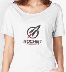 Rocket Exhaust Merchandise Women's Relaxed Fit T-Shirt