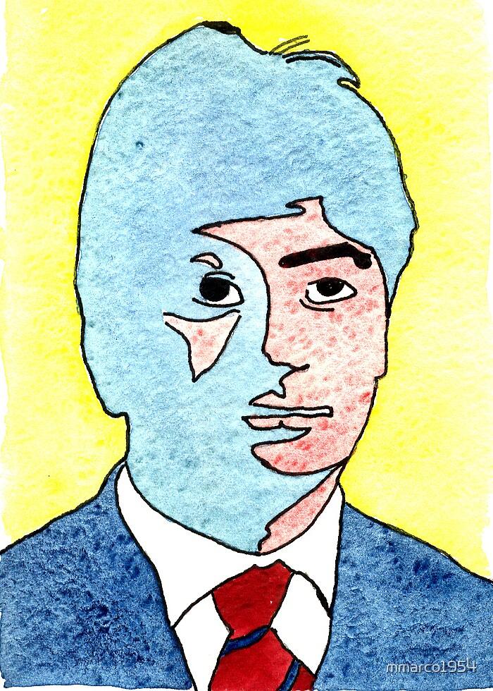 Self Portrait 4 by mmarco1954