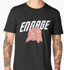 Tardigrade - ENGAGE! Sci Fi Design Men's Premium T-Shirt