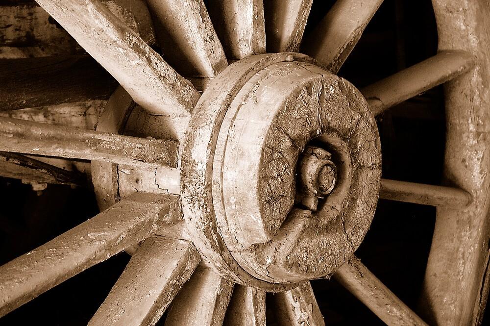 Wheels gone by by Gordon Slater