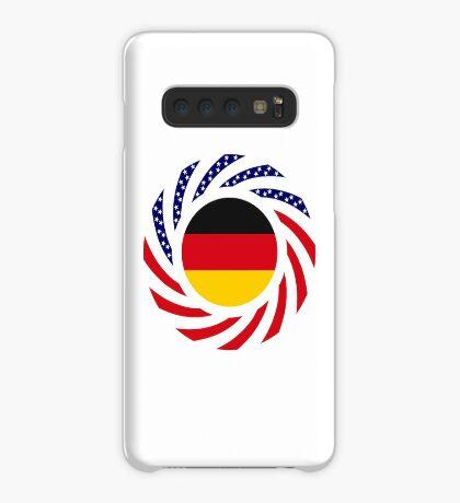 German American Multinational Patriot Flag Series Case/Skin for Samsung Galaxy