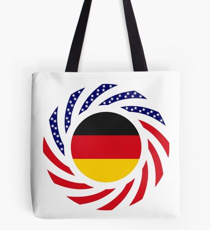German American Multinational Patriot Flag Series Tote Bag