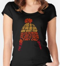 Cunning hat Women's Fitted Scoop T-Shirt