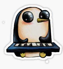 Gunter with Keyboard Sticker